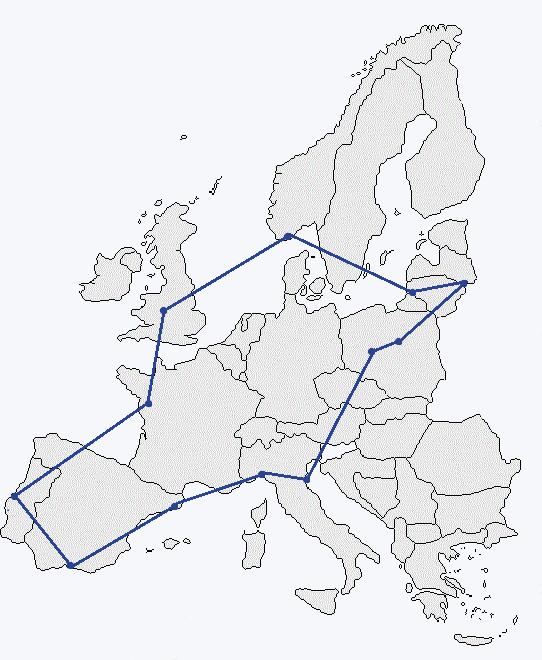 Map of Gen-Y City