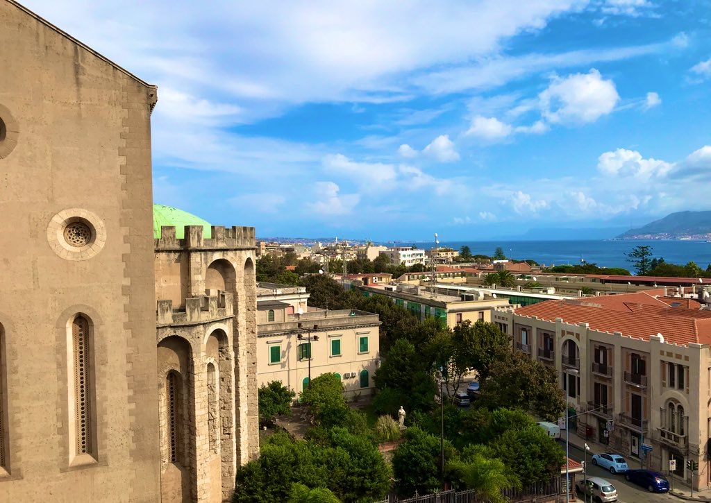 View from the city of Messina (IT)