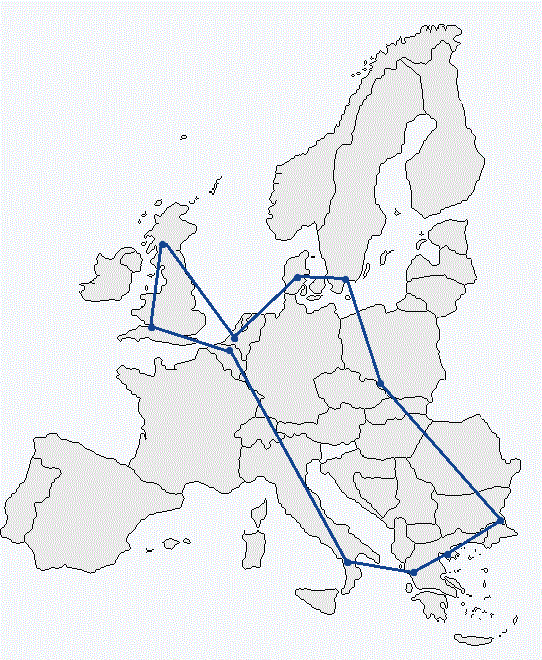 Map of Resilient Europe
