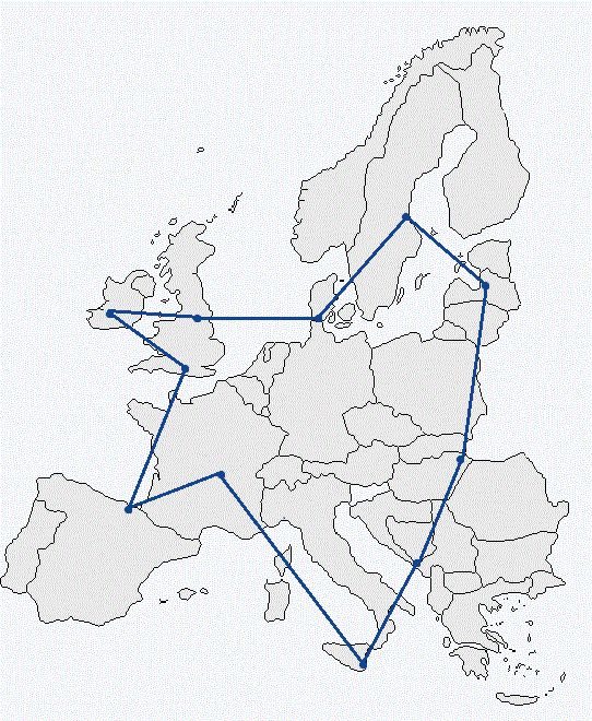 Map of Tech Town