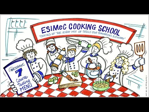 ESIMeC Cooking Lesson   cooking up the right mix of skills for resilient city economies HD