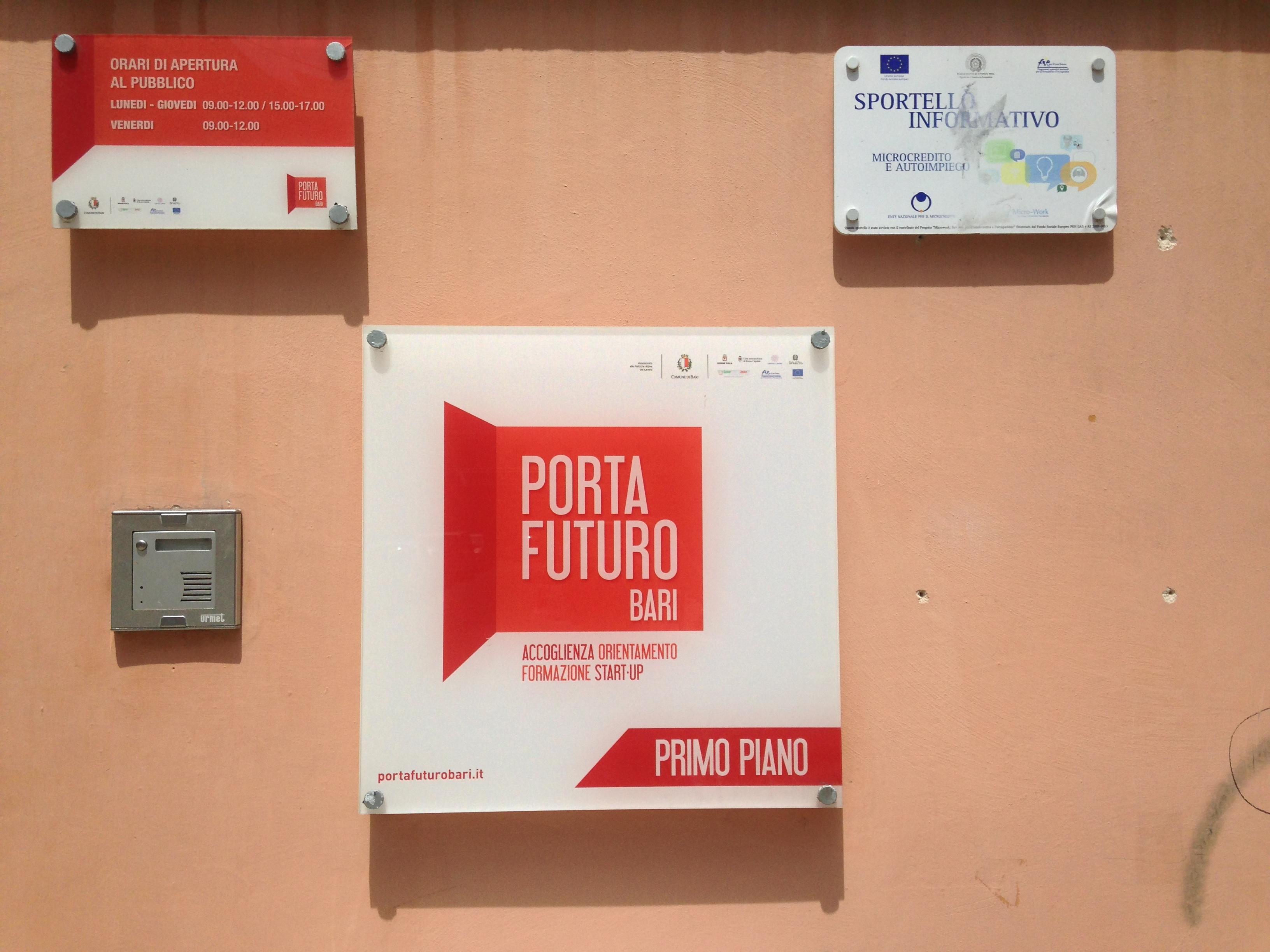 Porta Futuro - Bari