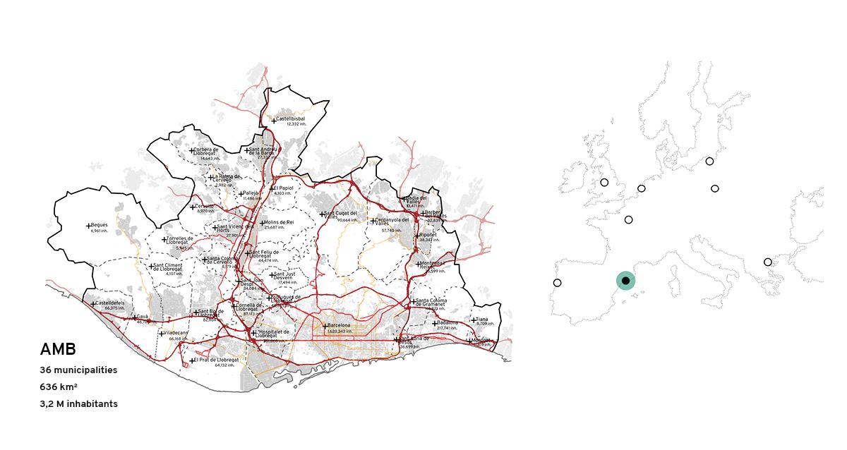 RiConnect partner maps: AMB