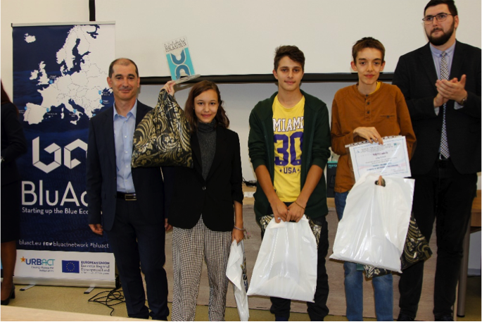 BluAct Action Planning network Burgas hackaton woman speaker winner team