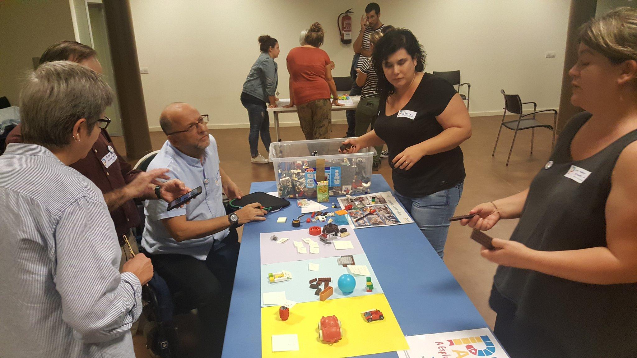 Esplugues de Llobregat ULG Meeting in October 2019 - Workshop
