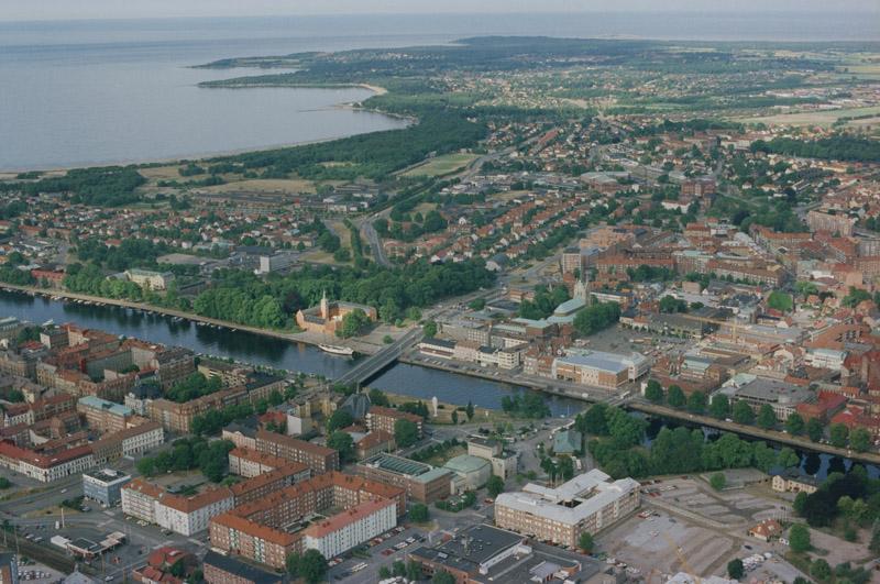 Halmstad is een havenstad aan de Zweedse kust met ongeveer 100.000 inwoners - en lid van het OnBoard netwerk.