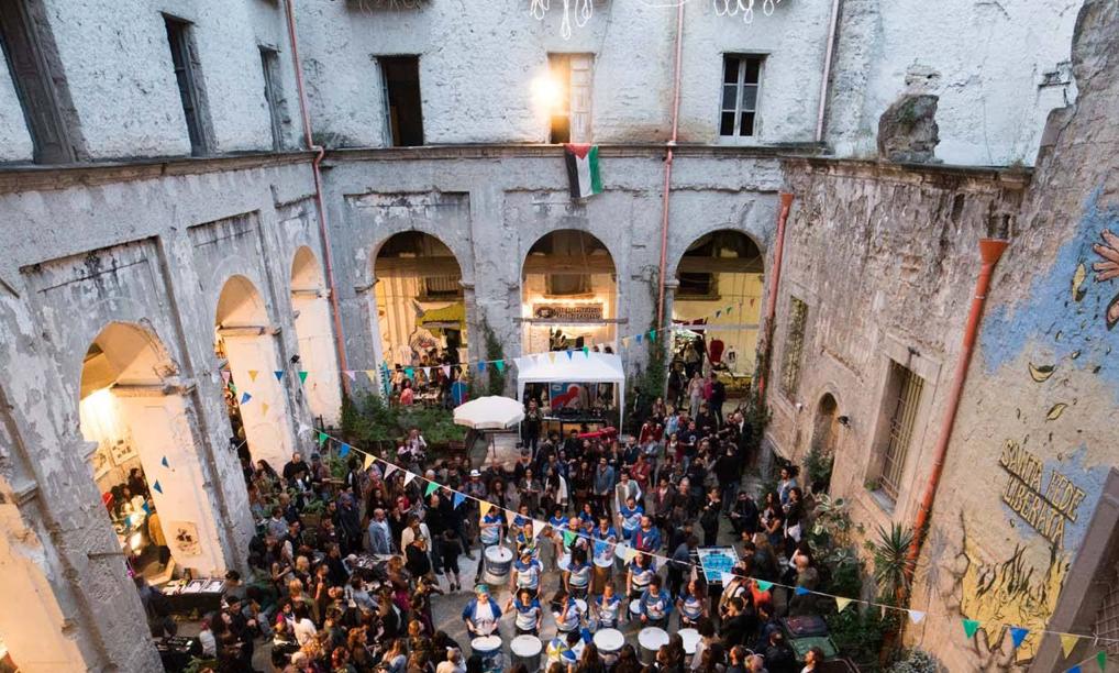 Santa Fede Liberata, Naples