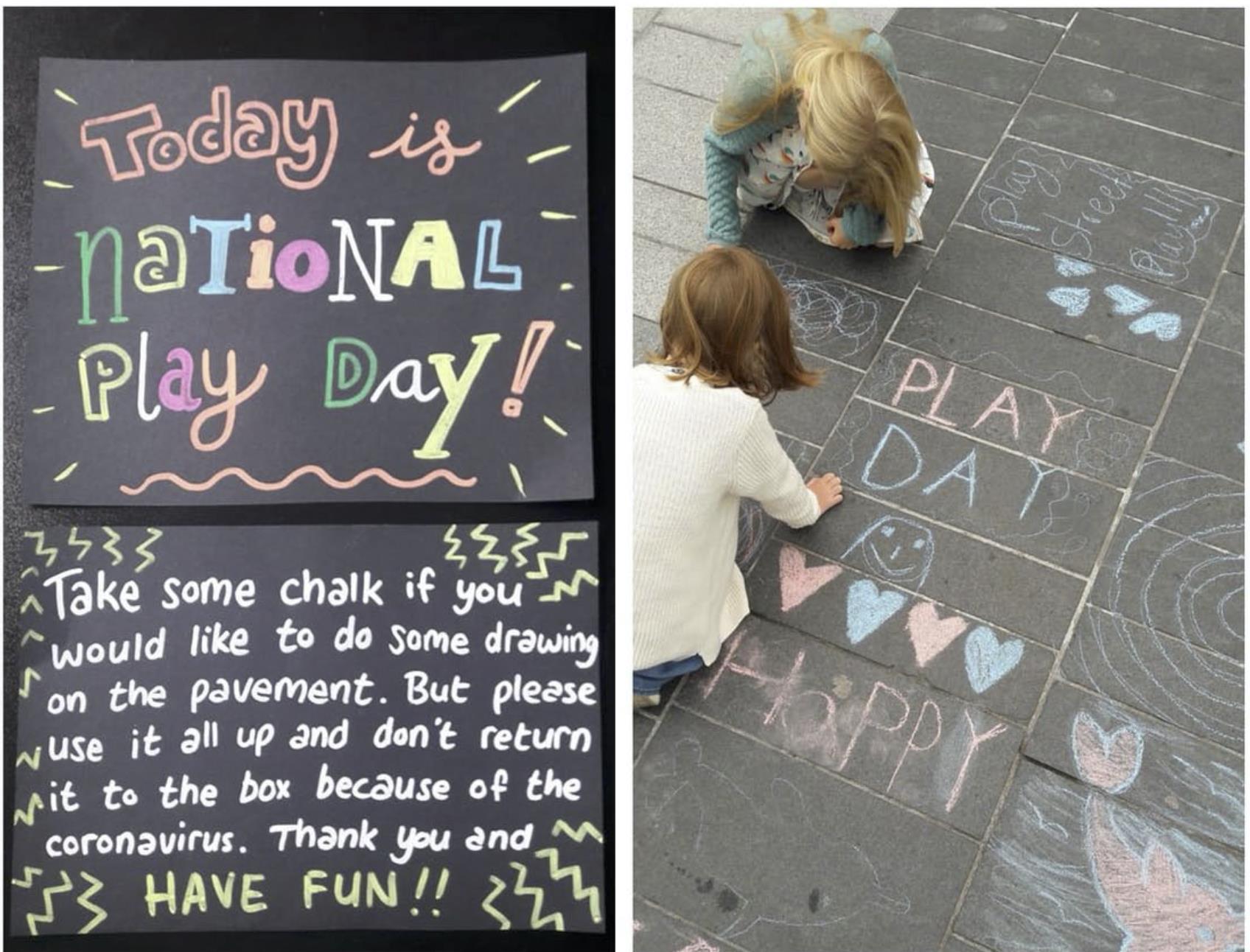 Kids playing in Cork