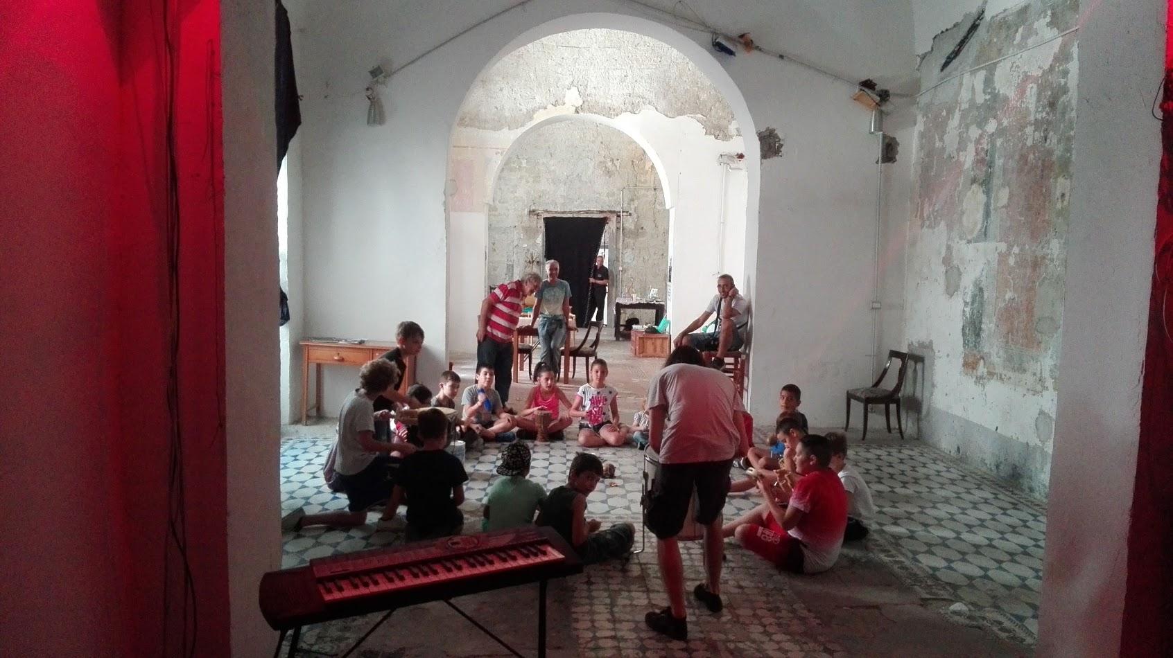 Music workshop for kids at Santa Fede Liberata, Naples, Jun 19, 2018