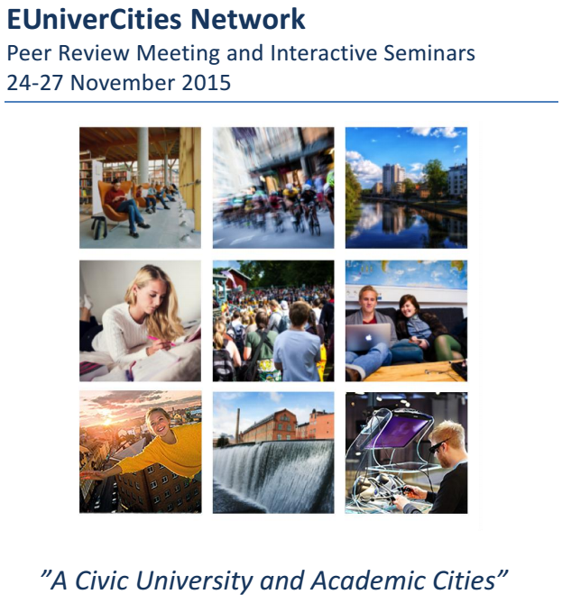 Programme EUniverCities Network Peer Review Meeting
