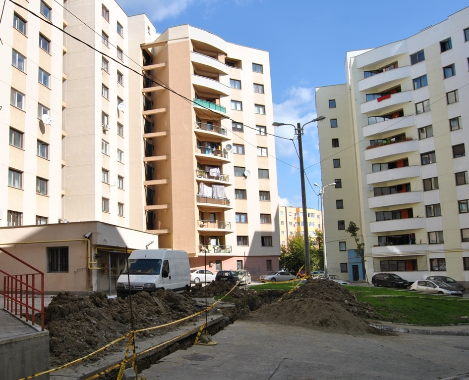 High-rise block refurbished in Iasi