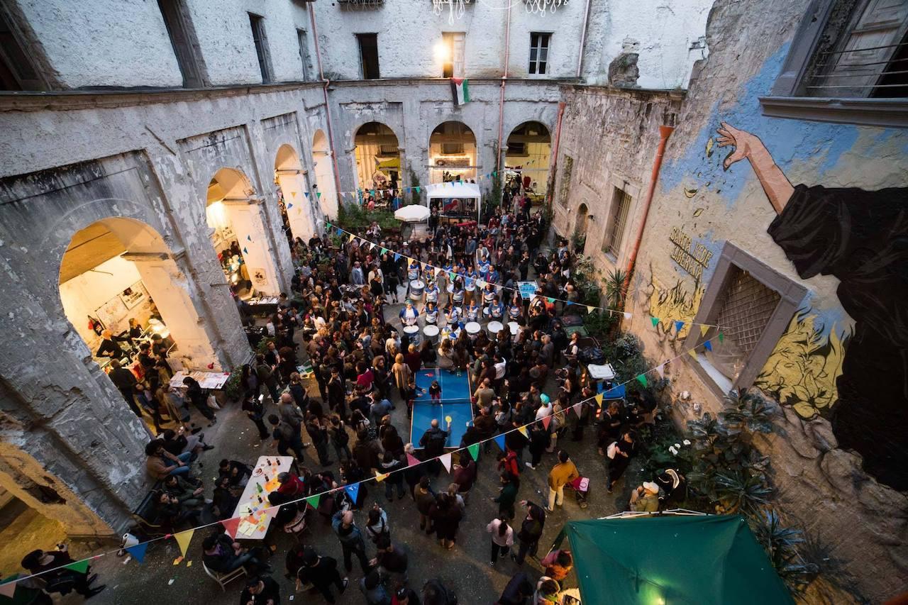 OblaFest, paint, market & music at Santa Fede Liberata, Naples, 2018