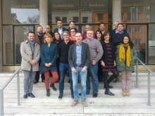 CityMobilNet partners at the Bielefeld seminar February 2017