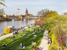 © Meinzahn | Dreamstime.com - River Main In Frankfurt