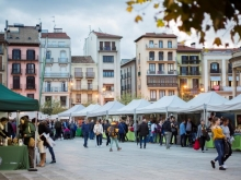 Busy Market in Pamplona