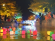 Lanterns night in Grigny, France - URBACT OnStage