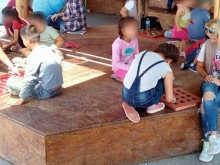 Toys of the World - Larissa (GR) - Families playing with wooden toys