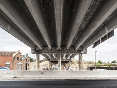 Infrastructure overlay in Sant Vicenç dels Horts
