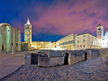 Old Town Sights in the City of Zadar