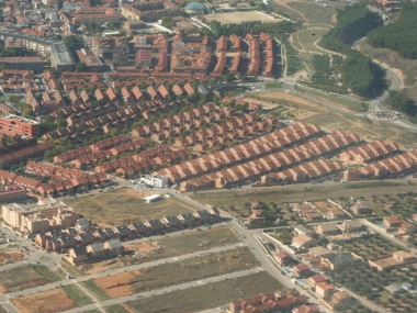 Urban sprawl madrid