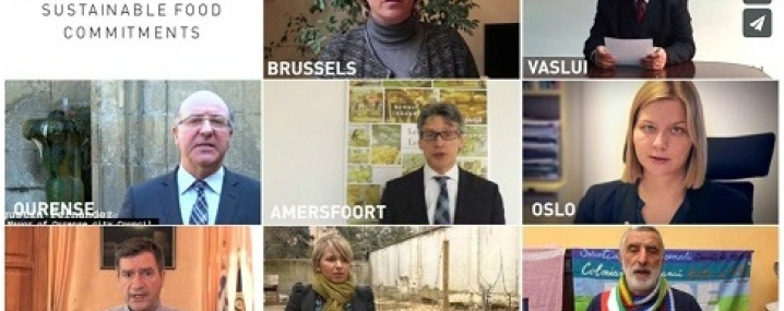 Video of Mayors for Sustainable Food