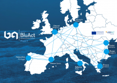 BluAct network map Piraeus BlueGrowth Blue Economy