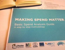 The front cover of the Making Spend Matter Guide