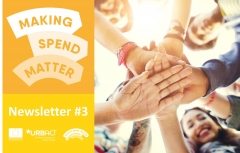 Making Spend Matter logo with third newsletter title.