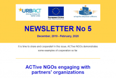 ACTive NGOs Newsletter