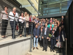 Welcoming International Talent TNM Magdeburg group photo